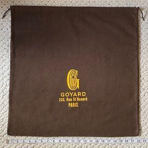 "GOYARD Authentic Large TOTE XL Purse Bag xl21""RARE"